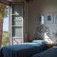 camera con due letti singoli e ampia finestra